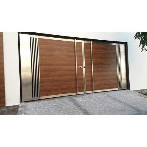 Stainless Steel Main Gates. Stainless Steel Main Gates at Rs 1600  square feet   SS Gate