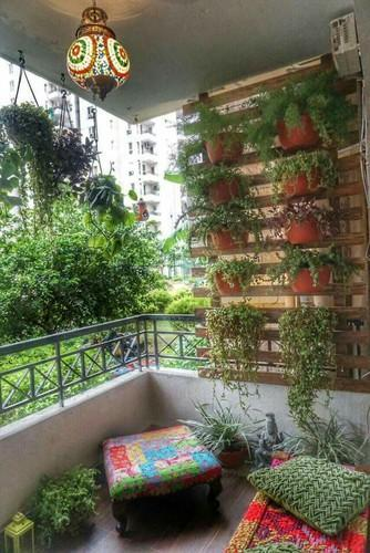 Balcony And Terrace Garden Design in Sector 49, Gurgaon ...