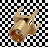MCX Female PCB Mount Connector