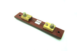 Brass And Mangnin External Shunt DC 2A 75mV with Base Plate