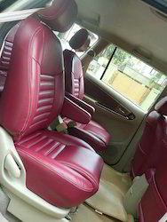 Groovy Napa Leather Maroon Seat Cover Onthecornerstone Fun Painted Chair Ideas Images Onthecornerstoneorg
