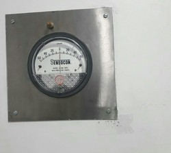 SS plate Magnehelic Pressure Gauge