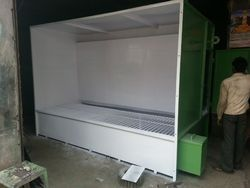 Industrial Spray Paint Booth