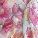 Printed Poly Chiffon Fabric