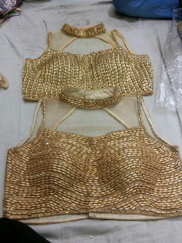 bd5d3ec09dfac5 Heavy Beading Design Stitched Blouse at Rs 1500 /piece(s ...