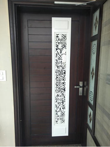 Wooden Doors Cnc Jaali Cutting Doors Manufacturer From