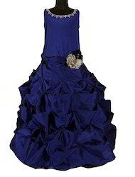 Blue Taffeta Gown Princess