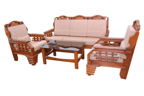 Teak Wood Sofa Set Downing Teak Wood Sofa Set 3 1 Seater In Natural Thesofa
