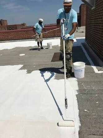 Cooling Roof Paint