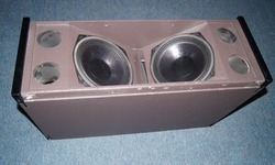 Line Array Empty Speaker Box La 208 & 210