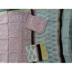 Modern Printed Chanderi Suit