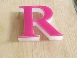 3D Acrylic Letter
