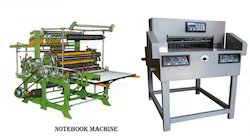 School Copy Note Book Making Machine