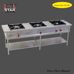 Three Burner for Restaurants