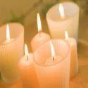 White Aroma Candles