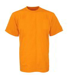 Party Wear Plain Mens Round Neck T Shirts 100% Cotton