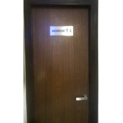 Washroom Signage
