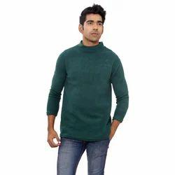 Woolen Full Sleeves Men's Round Neck Sweater