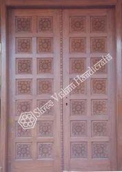 Wood Main Door