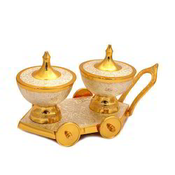Golden Bowl Set