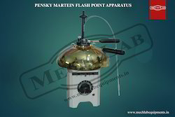 Pensky Martein's Flash Point Closed Cup Apparatus
