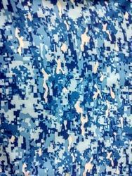 Digital Sublimation Of Camouflage Print