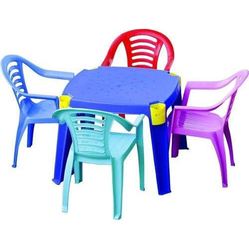 Kids Plastic Chair Set