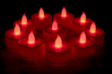 Multi Color LED Diya (10 Candles )