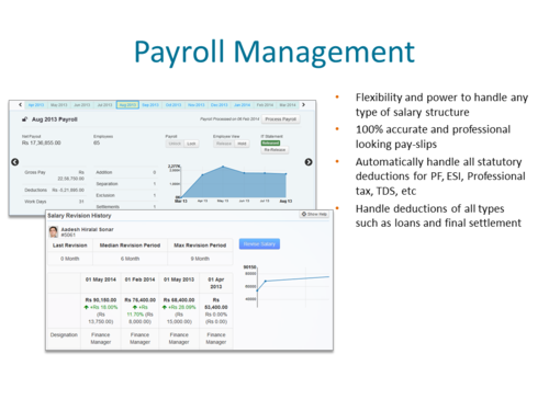 HR & Payroll Software - ESI,PF Online Software Service Provider from