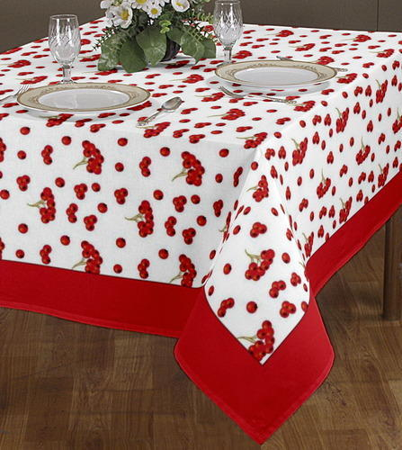 Gentil Border Printed Table Cloth