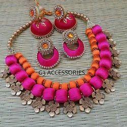 Same Silk Thread Jewellery, Size: Normal