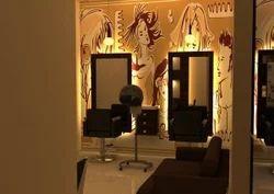 Modern Salon Interior Design Service