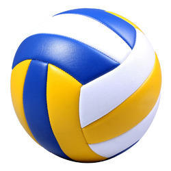 Multicolor PU Volleyball, Size: Standard