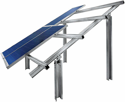 Steel Solar Panel Mounting Structure Thickness 1 6 5 Mm Rs 80 Kilogram Id 13222639948