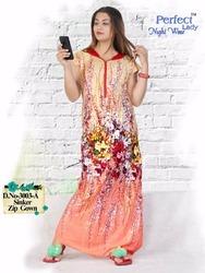 Sinker Zip Gown