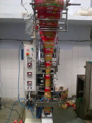 Namkeen Puffs Snacks Packing Machine