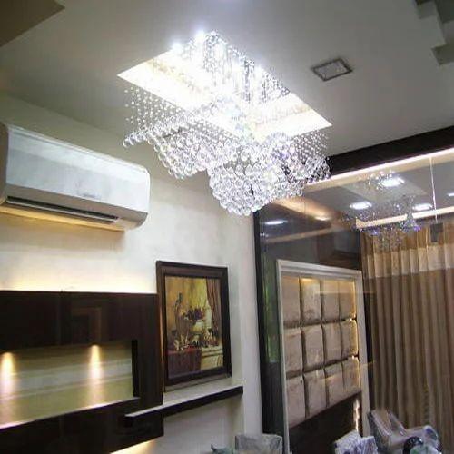 Living Room Ceiling Crystal Chandeliers