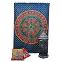 Mandala Indian Wall Hanging Tapestry Dorm Decor Bohemian