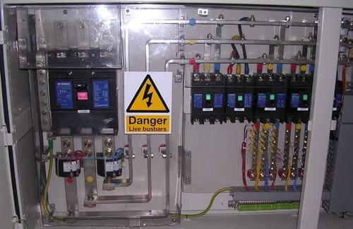 Industrial Machine Control Panels Power Distribution