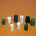 Hdpe Green And White Shampoo Bottle Caps, Neck Size : 20 Mm
