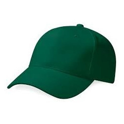 Plain Green Caps at Rs 65  piece  66719577849