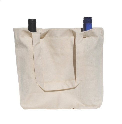 Bags - Natural Twill Wine Bag Manufacturer from Erode 575b8e48a3afa