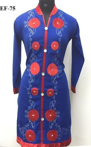 Casual Blue Kurti for Women