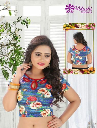 32 & 36 Cotton Printed Blouse