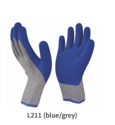 Latex Coated Cut Resistant Gloves Cut Level 2