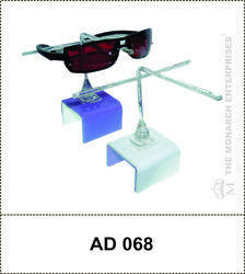 Square Singular Sunglass Frame Display Holder
