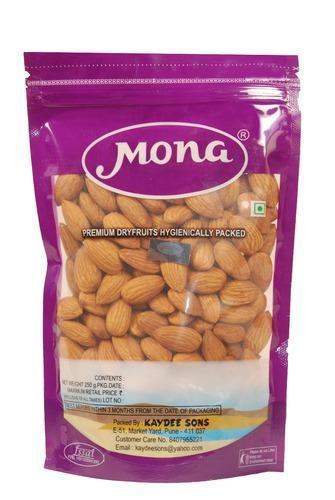 Mona Almonds, Packaging: 100 & 250 g