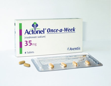 Actonel Risedronate Sodium Tablet, 1x4 Tablet, For Osteoporosis- Arthritis
