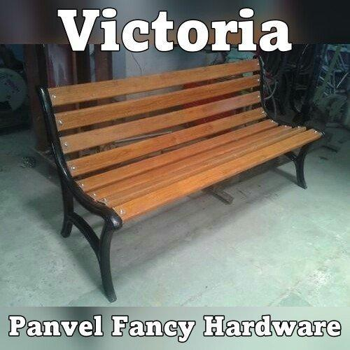Garden Bench 5ft Victoria Cast Iron Benches With FRP Slats