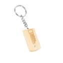 Wooden Engraved Key Rings